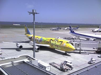 ポケモン飛行機.JPG